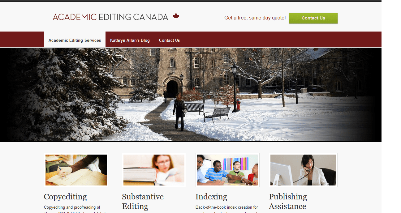 academiceditingcanada.ca Review