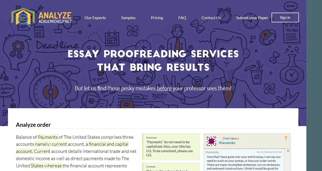 Academic writing help reviews