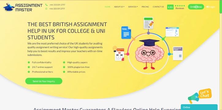 Writing services in uk