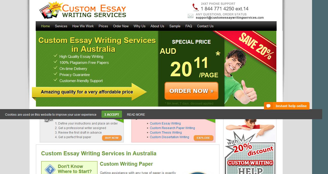 Custom essay ws review