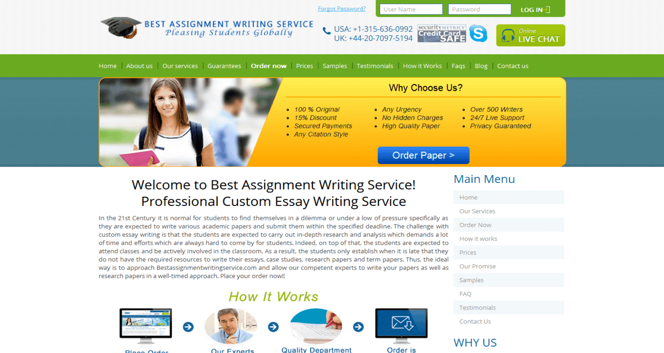 bestassignmentwritingservice.com Review