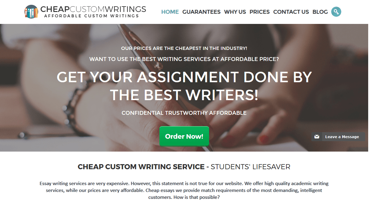 cheapcustomwritings.net Review