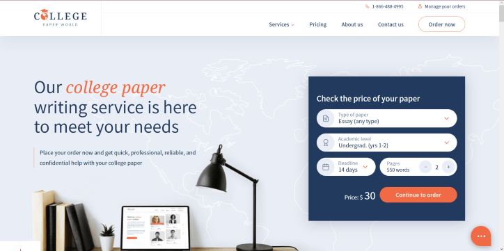 collegepaperworld.com Review