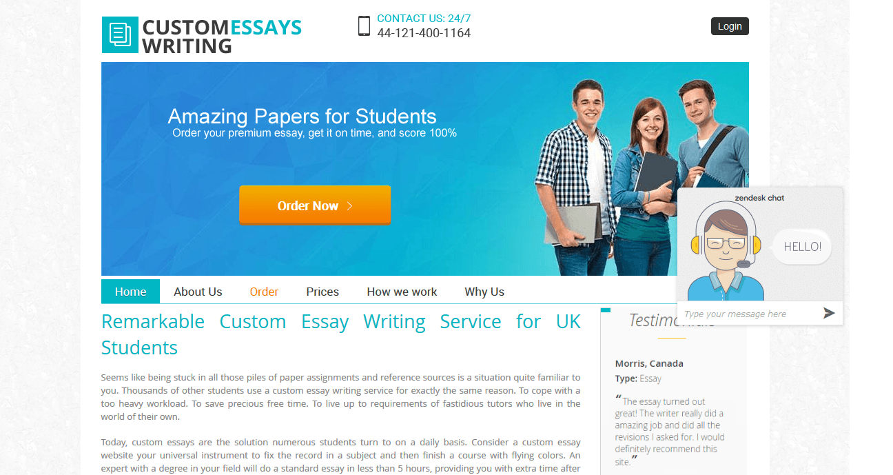 Custom essay review