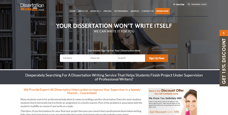 dissertationworks.co.uk Review