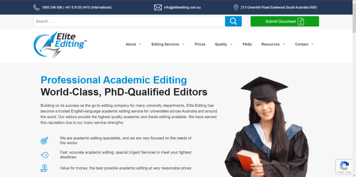 Top essay editing service