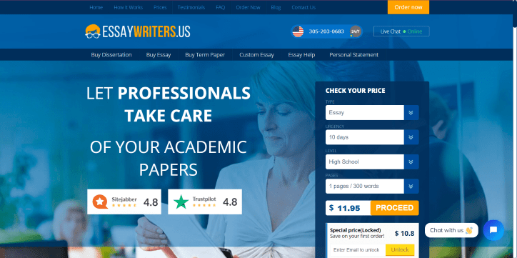 custom essays that make the grade!