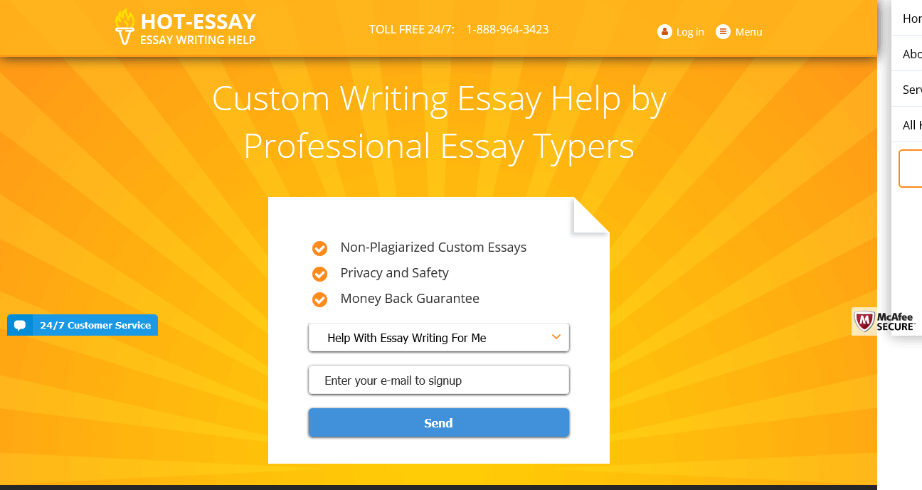 Hot essay service review
