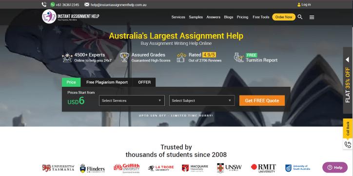 instantassignmenthelp.com.au review