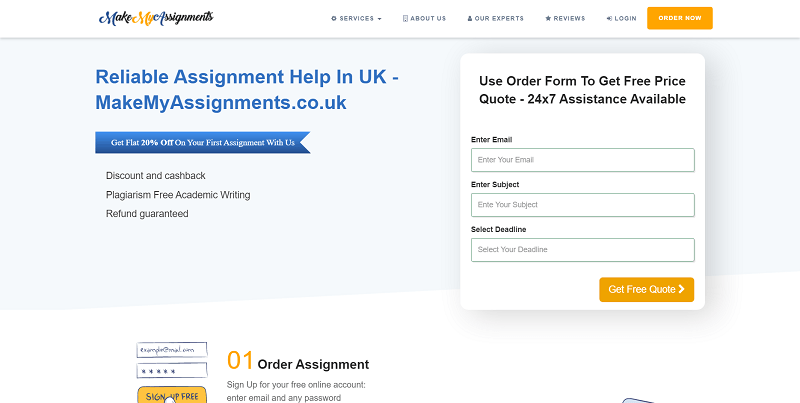 makemyassignments.co.uk Review