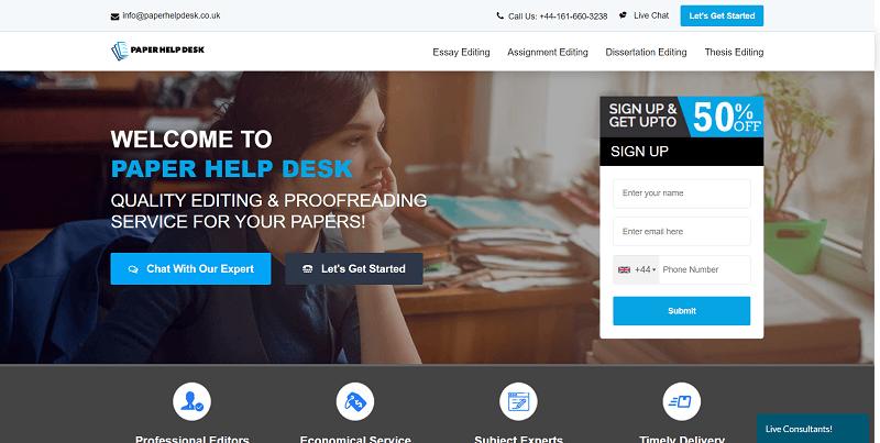 popular paper editing website uk