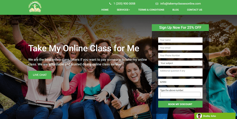 takemyclassesonline.com Review