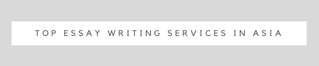 top essay writing services asia