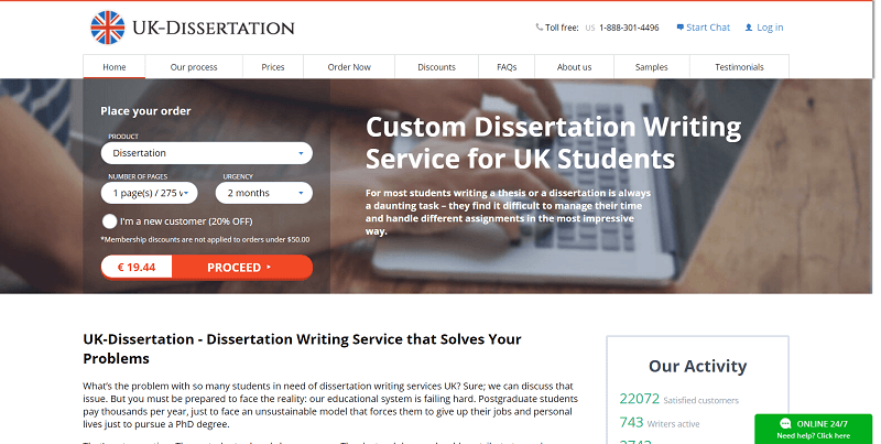 Best dissertation writing services reviews uk