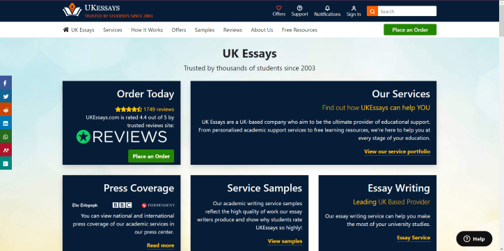 Essay On Health Awareness Ukessayscom Review Thesis Statement Descriptive Essay also Essay English Example Ukessayscom Review  Revieweal  Top Writing Services Proposal Essay Format