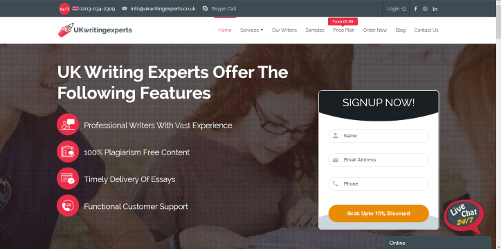 Uk writing experts
