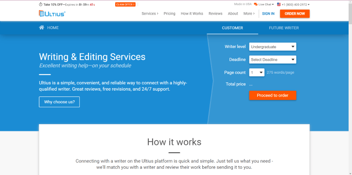 Ultius writing service review
