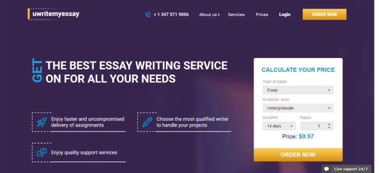 uwritemyessay.com Review