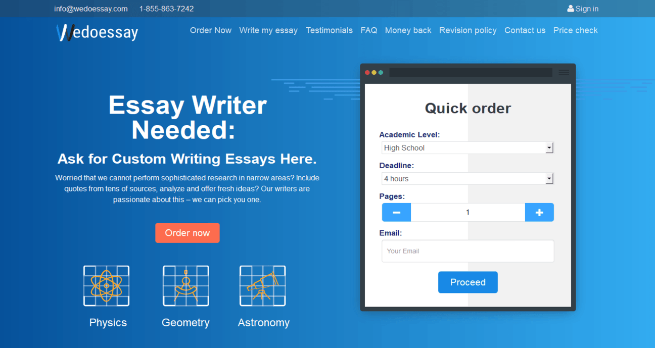 wedoessay.com Review