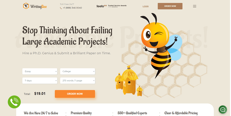 writingbee.com Review