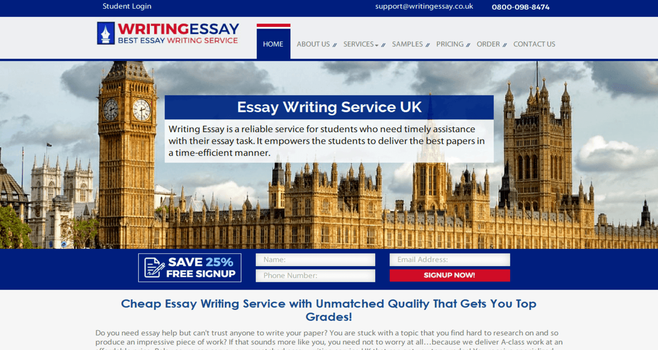 writingessay.co.uk Review