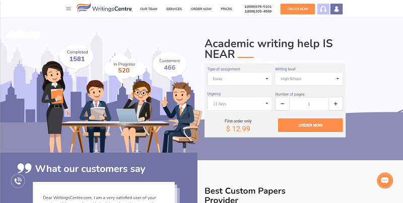 writingscentre.com Review